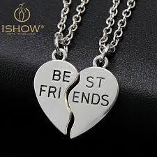 friendship heart new heart pendant pieces broken two best friend friendship forever