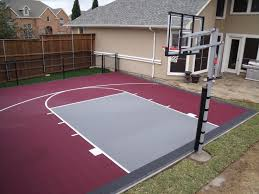 Outdoor Basketball Court Cost Estimate by 78 Best Backyard Court Designs Images On Outdoor