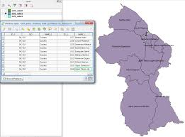 Guyana Map Data Get Shp Or Svg From Gadm Subdivisions Within A Country
