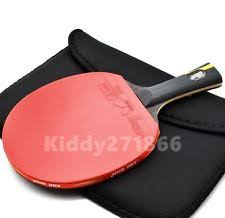 Dhs Table Tennis by Double Happiness Hurricane Wang Table Tennis Racket Ping Pong