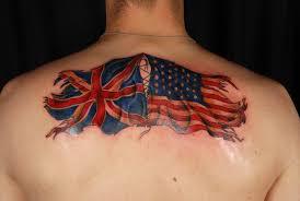 23 best uk flag tattoos