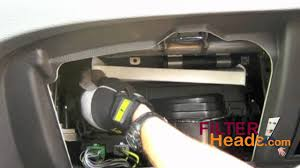 cabin air filter replacement ford fusion ford cabin air filter