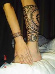 matching tribal tattoo for arm and leg tattoos pinterest
