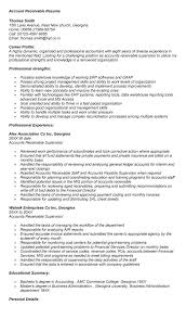 Accounts Payable And Receivable Resume Sample by Accounts Payable Resumes Resume For Accounts Receivable