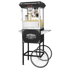 great northern lincoln popcorn machine and cart 6005 the home depot