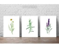 Lavender Home Decor Lavender Wall Decor Etsy