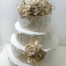 burlap cake toppers lace cake topper burlap rustic and crown veselo top