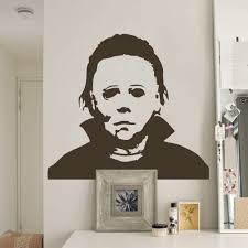 aliexpress com buy michael myers halloween amok vinyl wall