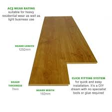prestige oak planked honey laminate flooring get 50 rrp now