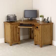 Computer Desk Oak Exceptional Rustic Computer Desk Picture Inspirations Office Desks