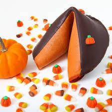fortune cookie premium pumpkin pie flavored