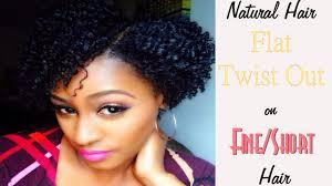 flat twist on short fine hair african american hairstyle videos