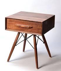 Modern Walnut Coffee Table Side Table Walnut End Tables Live Edge Walnut Coffee Table