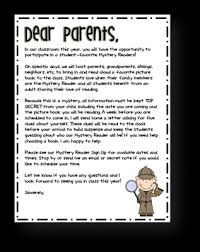 6 best images of welcome letter to parents welcome back