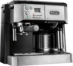 espresso maker how it works delonghi 10 cup coffeemaker and espresso maker silver bco430