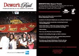 lexus dugout club seats premium seating miami heat
