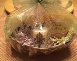 candle gift baskets candle gift basket etsy