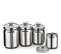 stainless steel canisters kitchen cookie jars canisters storage organization kitchen food