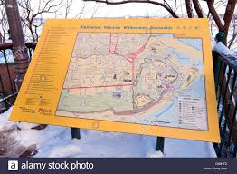Quebec Map Tourist Attraction Board And Street Map Of Quebec City Canada