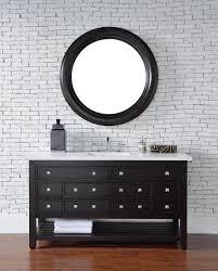 Bathroom Vanities Online Abstron 60 Inch Espresso Single Sink Transitional Bathroom Vanity