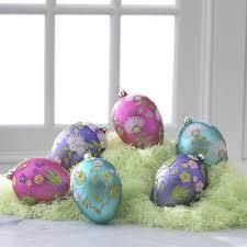glass easter egg ornaments decorative easter trees and easter tree ornaments easter