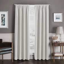 Insulated Window Curtains Sebastian Rod Pocket Insulated Total Blackout Window Curtain