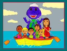 sailing with barney and the backyard gang by bestbarneyfan on
