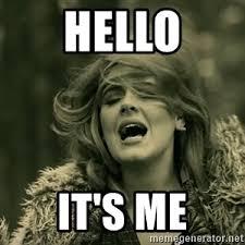 Me Meme - hello adele meme generator