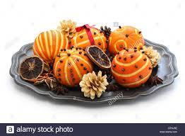 Pomander Balls Spiced Orange Pomander Balls Scented Christmas Table Decoration