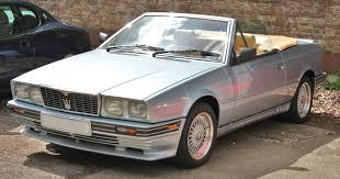 old maserati convertible maserati biturbo 2574910