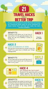 Travel hack charts traveling hacks