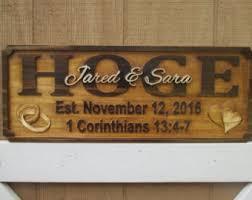Custom Decorative Signs Custom Wedding Decor Etsy