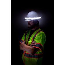 halo hard hat light illumagear halo light personal active safety system