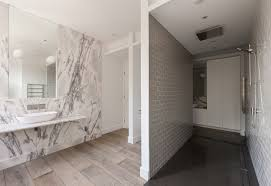 Carrara Marble Bathroom Designs by Bathroom Of The Week In London A Dramatic Turkish Marble