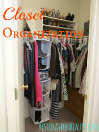 restoration beauty organizing made simple my closet u0026 tips