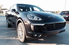 porsche suv black 2015 2016 porsche cayenne s review exhaust start up