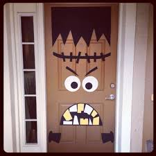 Diy Halloween Decorations Best 25 Diy Halloween Door Decorations Ideas On Pinterest