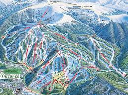 Colorado Ski Resort Map by Winter Park Resort Skimap Org