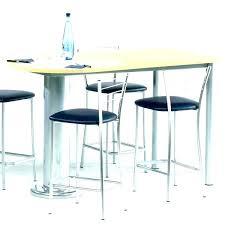 hauteur bar cuisine hauteur table bar pour cuisine table de cuisine quadra en stratifie