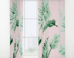 palm leaf curtains leaf window curtains palm leaf curtain