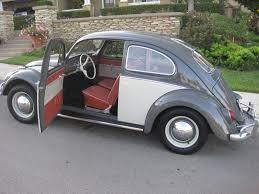 vintage volkswagen bug 1964 vw bug interior braxmeyer vintage volkswagen restoration
