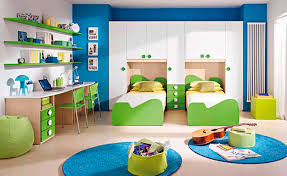 Decoration Beautiful Kids Bedroom For by Awesome Green Brown Wood Glass Cool Design Boys Bedroom Decoration