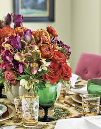 Centerpieces For Thanksgiving 42 Amazing Flower Decorations For A Thanksgiving Table Digsdigs