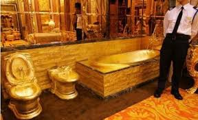 gold bathrooms the world s most expensive bathrooms anchor pumps