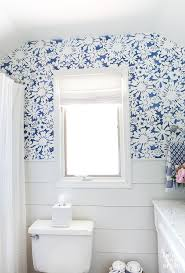 bathroom stencil ideas create faux wallpaper using paint and a stencil in my own style