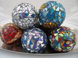 mosaic decorations crafty bits