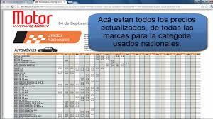 revista motor 2016 precios de carros usados nacionales en colombia youtube