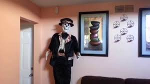 deady teddy spirit halloween rare gemmy 5ft dancing skeleton youtube