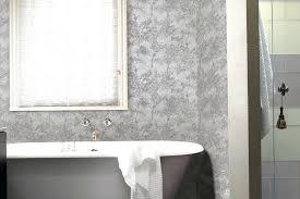 modern wallpaper bathroomorchid wallpaper bathroom modern