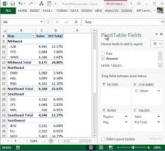 How To Remove Pivot Table Pivottable Percentage Of Parent Total Excel University